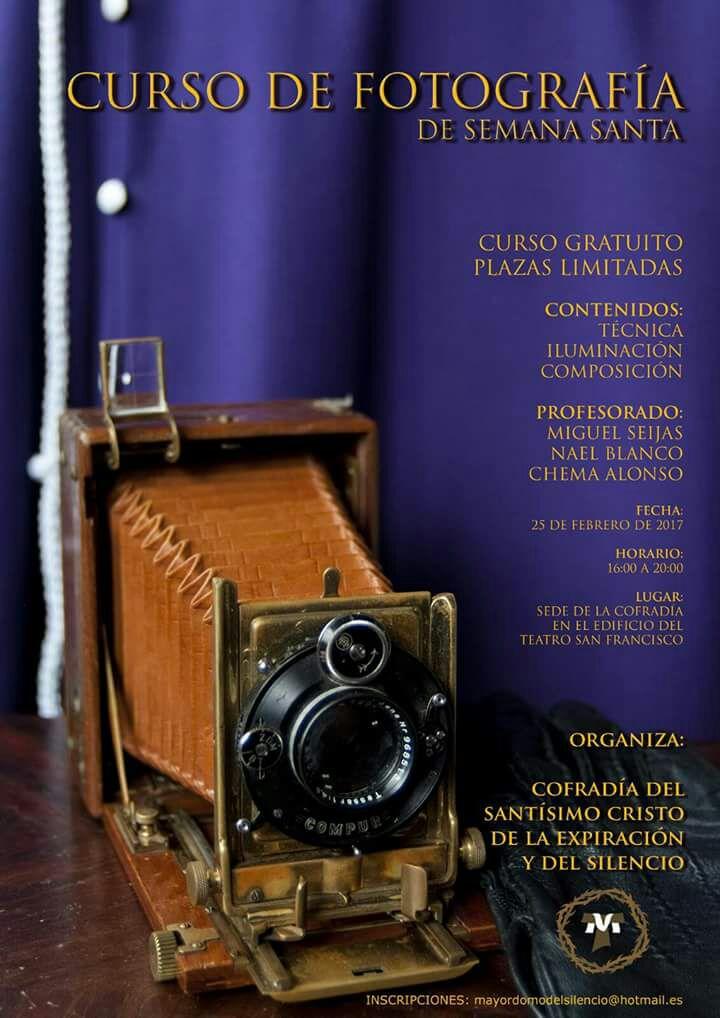 Curso de Fotografía de Semana Santa. Cofradía del Silencio. León